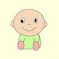 斜視の赤ちゃん